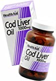 HealthAid Cod Liver Oil 1000mg - 60 Vegicaps