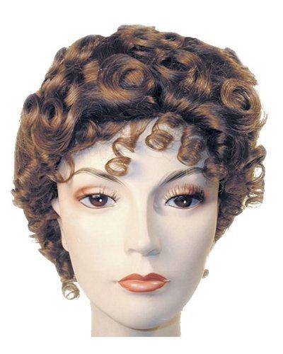 Deluxe Gibson Girl Upsweep American Beauty Wig - Lt Brown (Gibson Girl Wig)