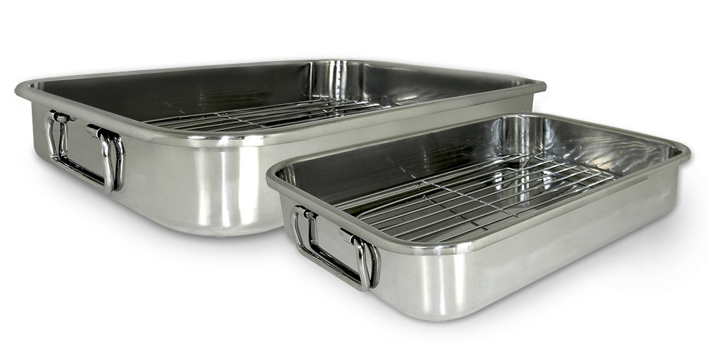 Cook Pro 561 4-piece All-in-One Lasagna and Roasting Pan