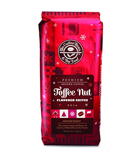 The Coffee Bean & Tea Leaf Toffee Nut Flavored Coffee, Ground, 12 Ounce