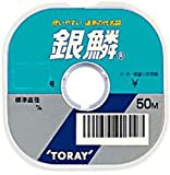 東レ(TORAY) ライン 銀鱗 50m 1号 ナチュラル