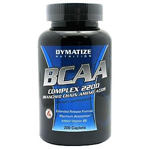 BCAA Complex 2200 Maximum Strength 200 Caps