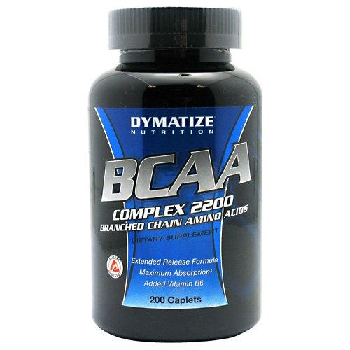 Dymatize Nutrition Bcaa Complex 2200, 200 Caplets