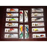 Lot of 16 New In The Box Bass Redfish Crankbait Fishing Lures