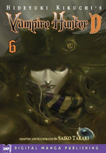Hideyuki Kikuchi's Vampire Hunter D Manga Volume 6 (Vampire Hunter D Graphic Novel)