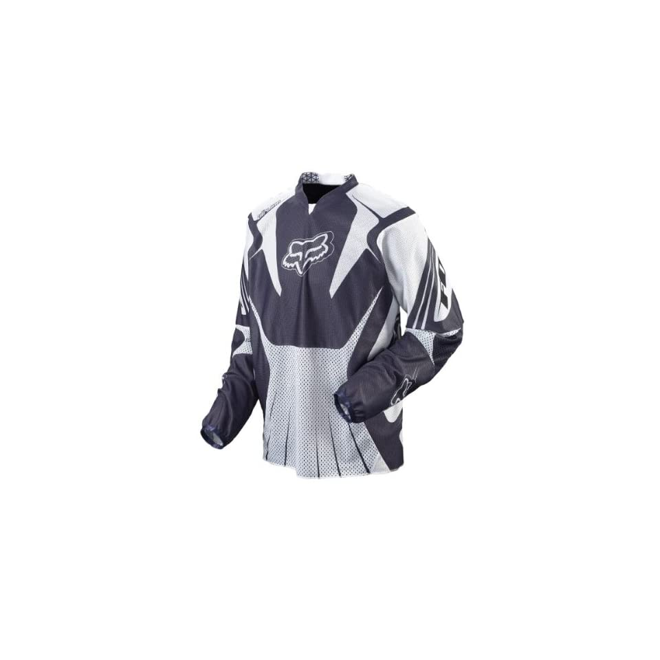 Fox Racing Airline Jersey   2008   Large/White