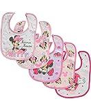 Minnie Mouse Pretty 5-Pack Bibs
