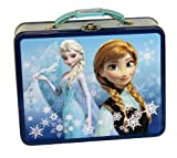 Disney Frozen Metal Tin Lunchbox - Blue