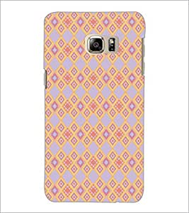 PrintDhaba Pattern D-5166 Back Case Cover for SAMSUNG GALAXY NOTE 5 EDGE (Multi-Coloured)