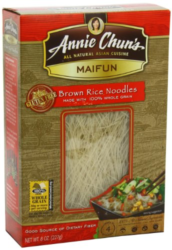 Annie Chun's Brown Rice Noodle, Maifun, 8-Ounce (Pack of 6)