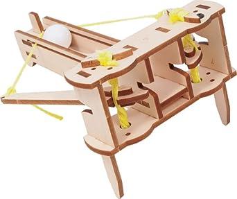 Amazon.com: Pitsco Laser-Cut Basswood Torsion Ballista Kit