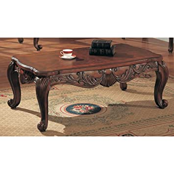 Coaster Home Furnishings 700468 Traditional Coffee Table, Brown