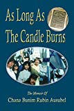 img - for As Long As The Candle Burns book / textbook / text book
