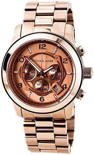 Beautiful Michael Kors Men's Rose Gold Watch Gift for Men