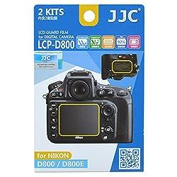 JJC LCP-D800 Guard Film Digital Camera LCD Screen Protector For Nikon D800 D800E