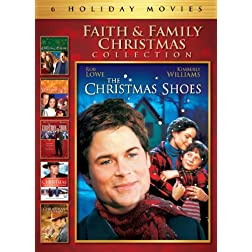Faith & Family Christmas Collection Movie 6 Pack (The Christmas Shoes, The Christmas Blessing, The Christmas Hope, The Christmas Choir, Christmas in Canaan, Christmas Comes Home to Canaan)