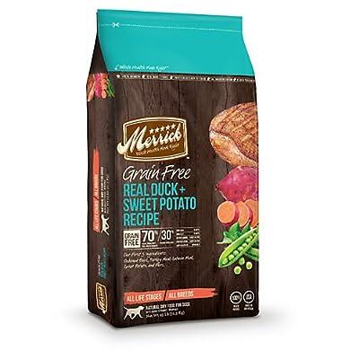 Merrick Grain Free Real Duck and Sweet Potato Dog Food