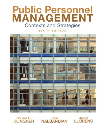 Public Personnel Management (6th Edition)