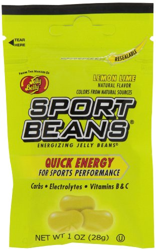 Jelly Belly Sport Beans, Lemon Lime Energizing Jelly Beans, 1-Ounce Bags (Pack of 24) (Jelly Belly Thank You compare prices)