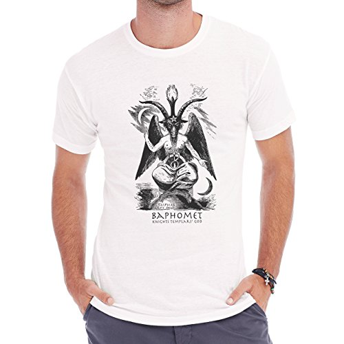 Baphomet Illuminati Symbolic New World Order Art Medium Uomini T-Shirt
