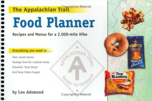Lou adsmond the appalachian trail food planner spiral for Appalachian cuisine