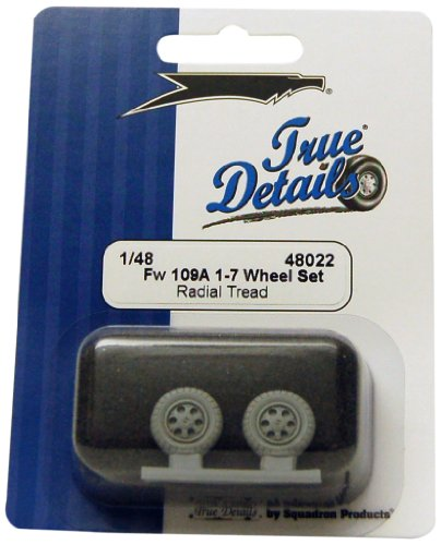 True Details Fw 190A-1/7 Wheels