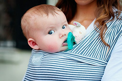 Buy Discount Happy Wrap Organic Baby Carrier, Slate Stripe