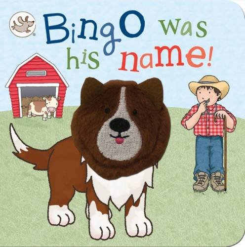 Finger Puppet Book Bingo Was His Name! (Little Learners Finger Puppet)