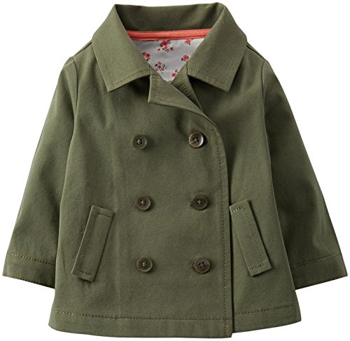 Carter's Baby Girls' Canvas Jacket (Baby) - Olive