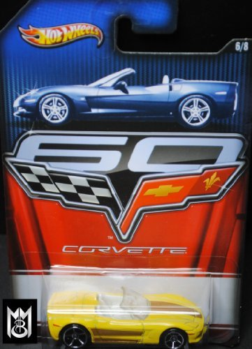 Hot Wheels 2013 Corvette Series 60 Year Anniversary Limited Edition - Corvette C6 Convertible 6/8 - 1