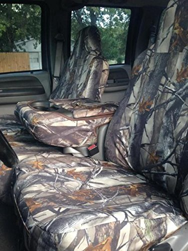 Durafit Seat Covers, F58-F228-XD3-C- Ford F250-F550 Front and Back Seat Set of Seat Covers in XD3 Camo Endura (Camo Seat Cover Set For Ford F250 compare prices)