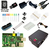 CanaKit Raspberry Pi Ultimate Starter Kit (Over 35 Components: Raspberry Pi + WiFi Dongle + 8GB SD Card + Case + Power Supply and many more)