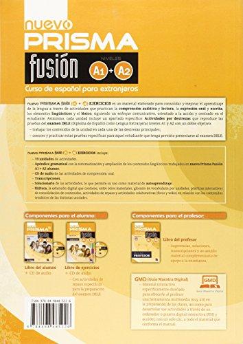 Nuevo prisma. Fusion A1/A2. Libro de ejercicios. Con ...