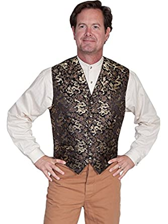 Men's Vintage Inspired Vests Classic Dragon Vest  AT vintagedancer.com