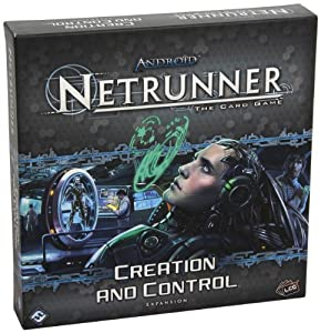Android Netrunner - 330810 - Jeu De Cartes - Creation And Control Expansion