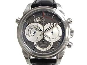 [オメガ] OMEGA デ・ビル ラトラパンテ コーアクシャル メンズ ウォッチ 腕時計 ステンレススチール(SS)×レザーベルト 4848.40.31 [中古]