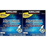 Kirkland Minoxidil 5% Extra Strength Hair Regrowth for Men kjuDSe, 2Pack (6 Month Supply) (Color: Clear)