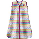 HALO SleepSack 100% Cotton Wearable Blanket, Print Girl, Medium (Discontinued by Manufacturer)