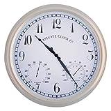 Esschert Design Metal Outdoor Clock, Large