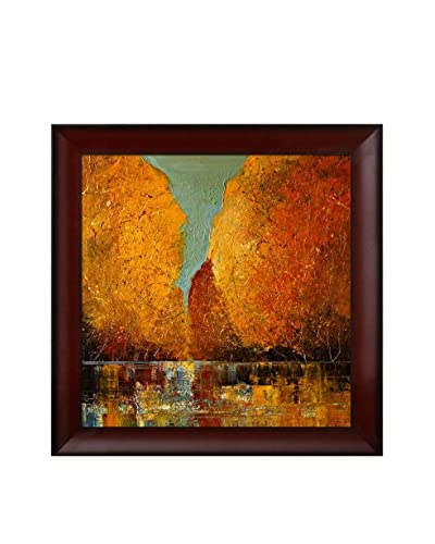 "Justyna Kopania ""Autumn"" Framed Canvas Print"