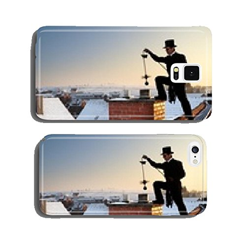 chimney-sweep-with-stovepipe-hat-upon-the-roof-cell-phone-cover-case-iphone6