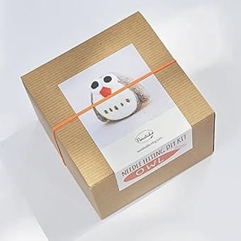 Needle Felting Kit Easy Owl Felting Starter Kit Diy Kit Diy