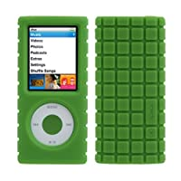 Speck iPod Nano 4G Pixel Skin Case - Green