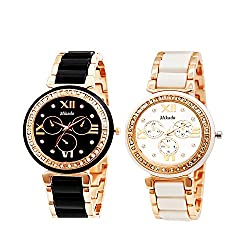 Multicolour Dial Women's / Girl's Watches Combo,Combo watches for Women's / Girl's