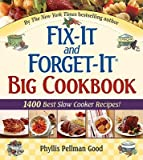 Fix-It and Forget-It Big Cookbook (0561486409) by Good, Phyllis Pellman