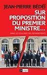 Sur proposition du Premier ministre