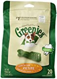 Greenies Treat-Pak for Dogs, 12-Ounce, Petite