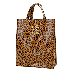 [Hello Kitty]Laminated Tote M Leopard
