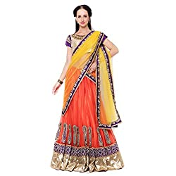 Suchi Fashion Yellow Net And Satin Stone Worked Traditional Wedding Sarees