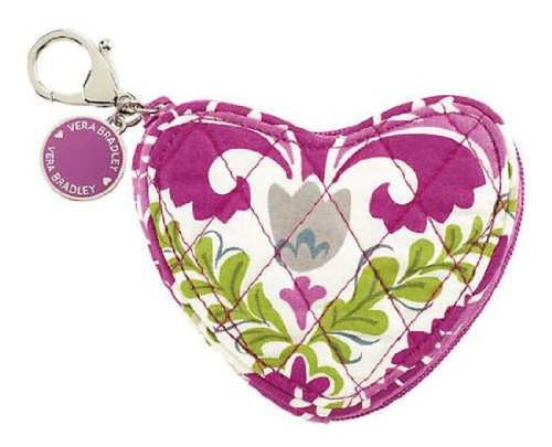 Vera Bradley Sweetheart Coin Purse in Julep Tulip